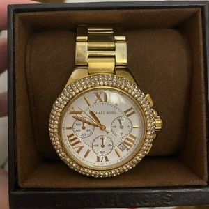 Michael Kors Pave Camille Watch